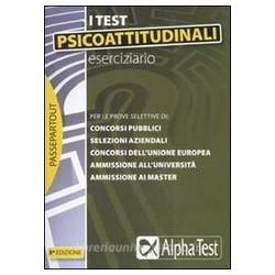 I test psicoattitudinali. -...