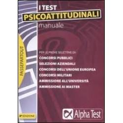I test psicoattitudinali -...